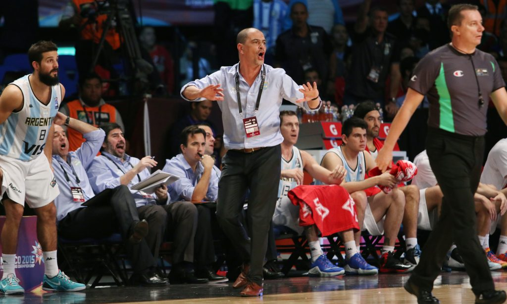 CIUDAD MEXICO, MEXICO - August 31, 2015-  Puerto Rico vs Argentina game during the 2015 FIBA Americas Championship at the Palacio de los Deportes. (photo: José Jiménez Tirado/FIBA Americas)