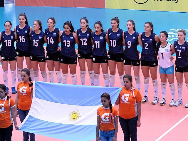 Las chicas argentinas que culminaron 10º.