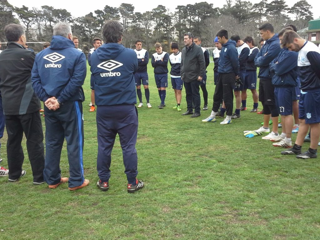 Unión hizo fútbol antes de Los Andes.