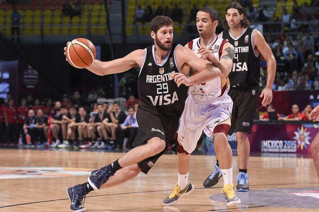 Patricio Garino se ganó un lugar en el equipo nacional. (FOTO: FIBA)