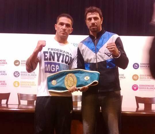 Siru Acosta y Zamora Nievas en la conferencia de prensa de esta mañana.