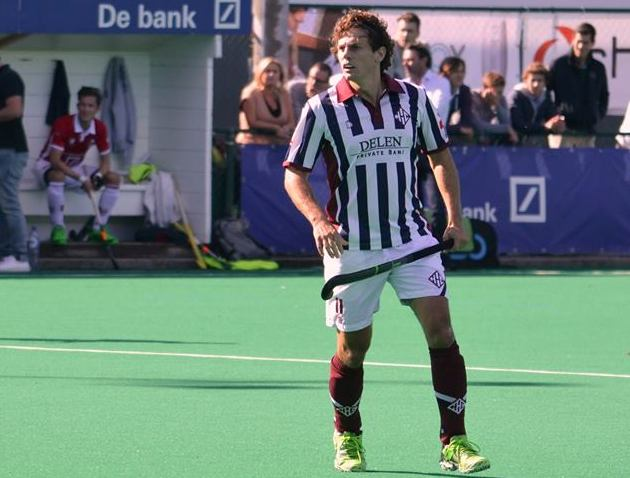 Agustín Nuñez durante el partido del pasado fin de semana.