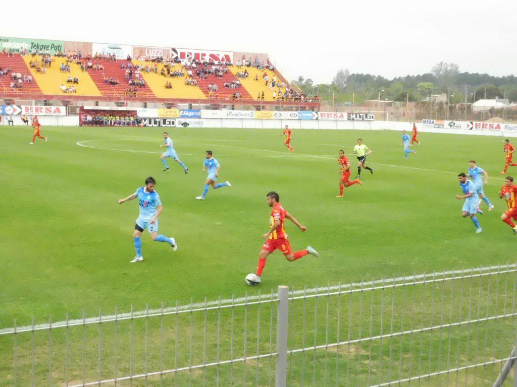 Boca Unidos fue superior a Unión y se quedó con los tres puntos. (Foto: Diario Época de Corrientes)