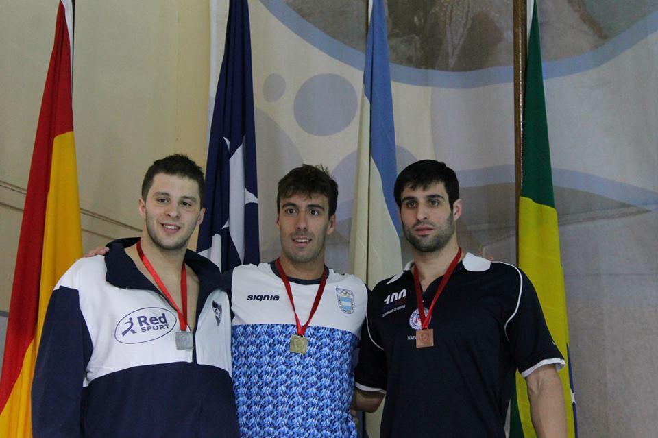 Facundo Miguelena se alzó con una medalla de oro.