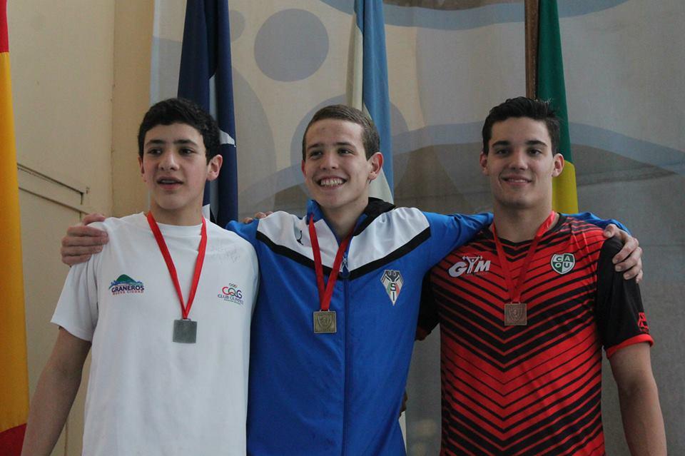 La medalla de bronce de Guillermo Souto.