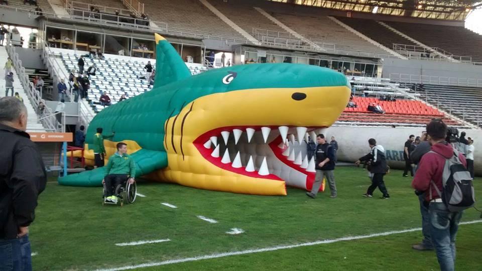 La Manga del Tiburón en su primera aparición. (Foto: Agrupación Sangre Verde)