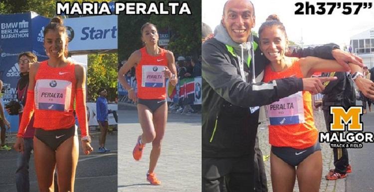 María Peralta clasificó a Río 2016