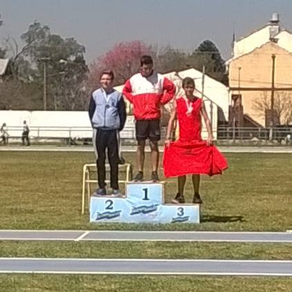 El podio de Ezequiel Martínez en Chaco.