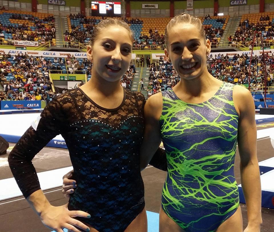 Belén Stoffel y Ayelén Tarabini, la dos marplatenses que irán al Mundial.