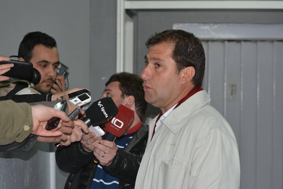 El entrenador de Unión fue claro con sus palabras. (Foto: Pedro Celano)