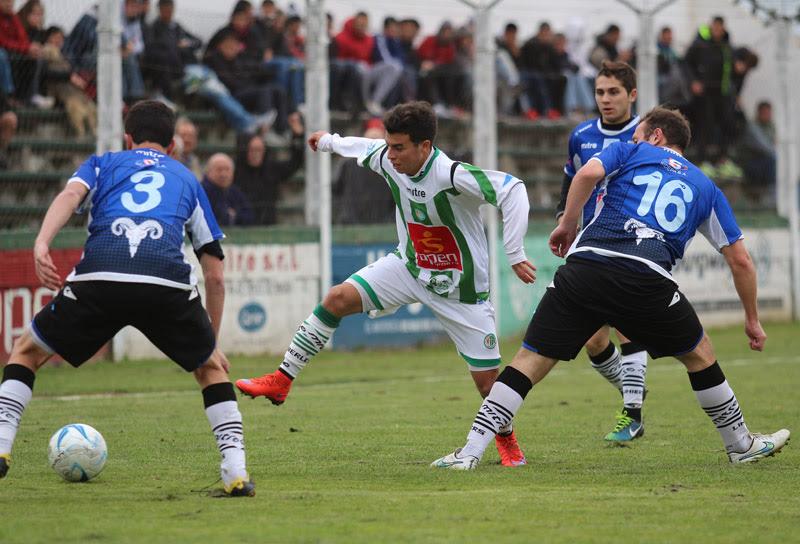 Kimberley igualó sin goles ante Liniers.