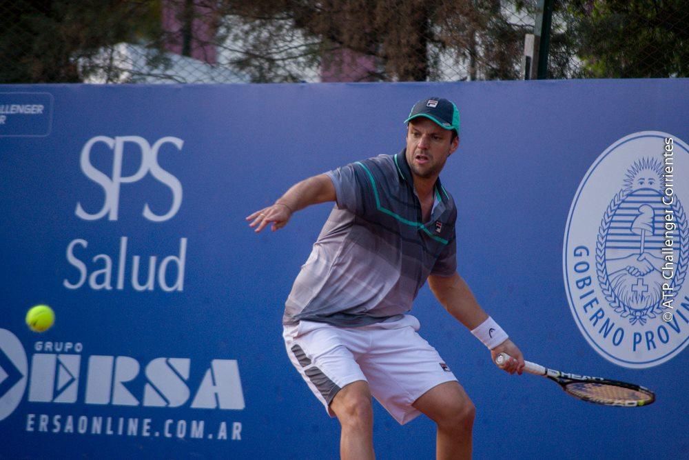 Horacio Zeballos no pudo avanzar más allá de la primera ronda.