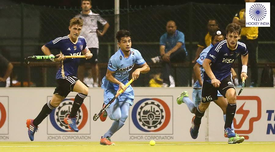 Joaquín Puglisi se ganó un lugar importante en el equipo argentino.