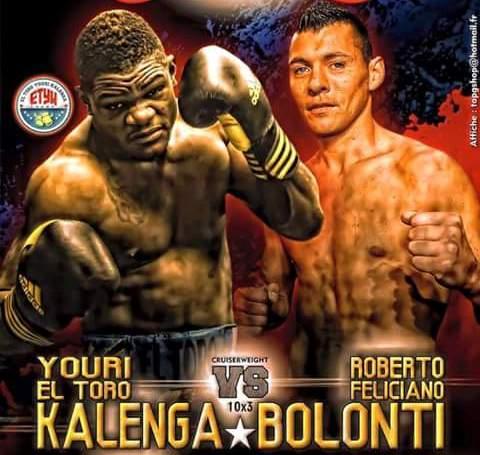 Roberto Bolonti y Youri Kalenga se medirán en Mónaco.