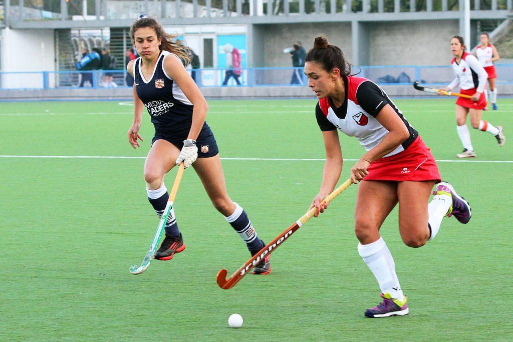 Martina Del Cerro durante el torneo del fin de semana. (Foto: Carlos De Vita)