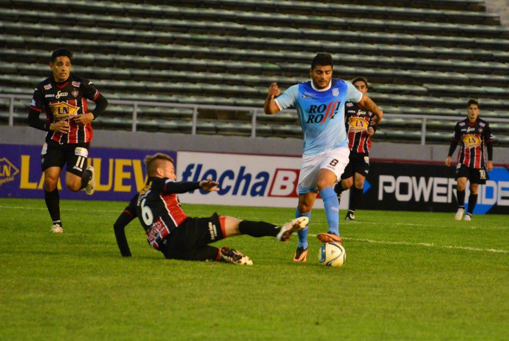 Javier Orlando Caruso en su paso por Unión (Foto: Pedro Celano)