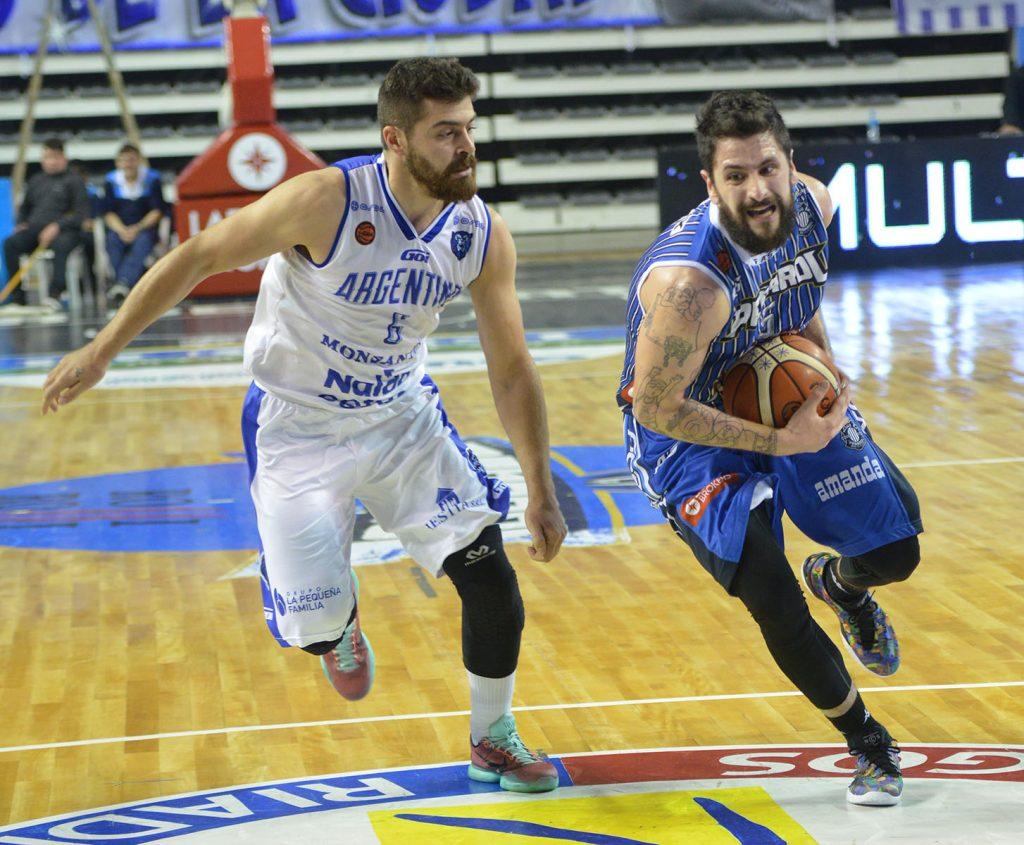 Fabián Sahdi fue importante junto con Massarelli en el triunfo ante Argentino. (Foto: Prensa Peñarol)