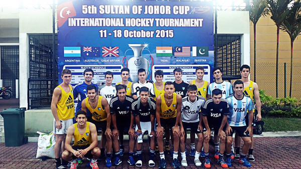 El equipo argentino que participa en la Sultan Cup.