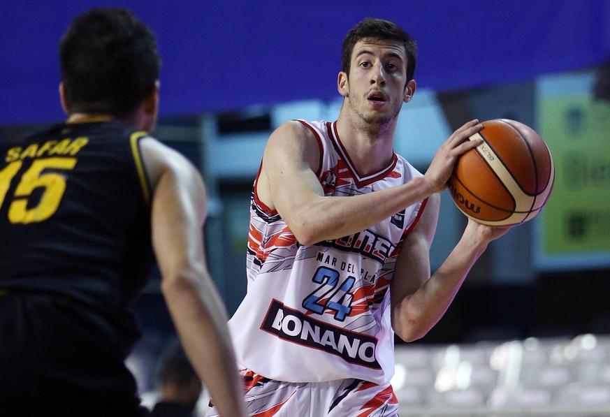 Bruno Sansimoni hizo un gran partido esta tarde en Uruguay. (Foto: FIBA)