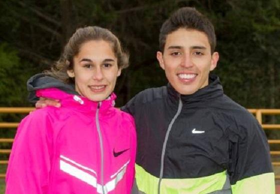 Noelina Madarieta y Jorge Caracassis, las figuras del Provincial Sub-23.