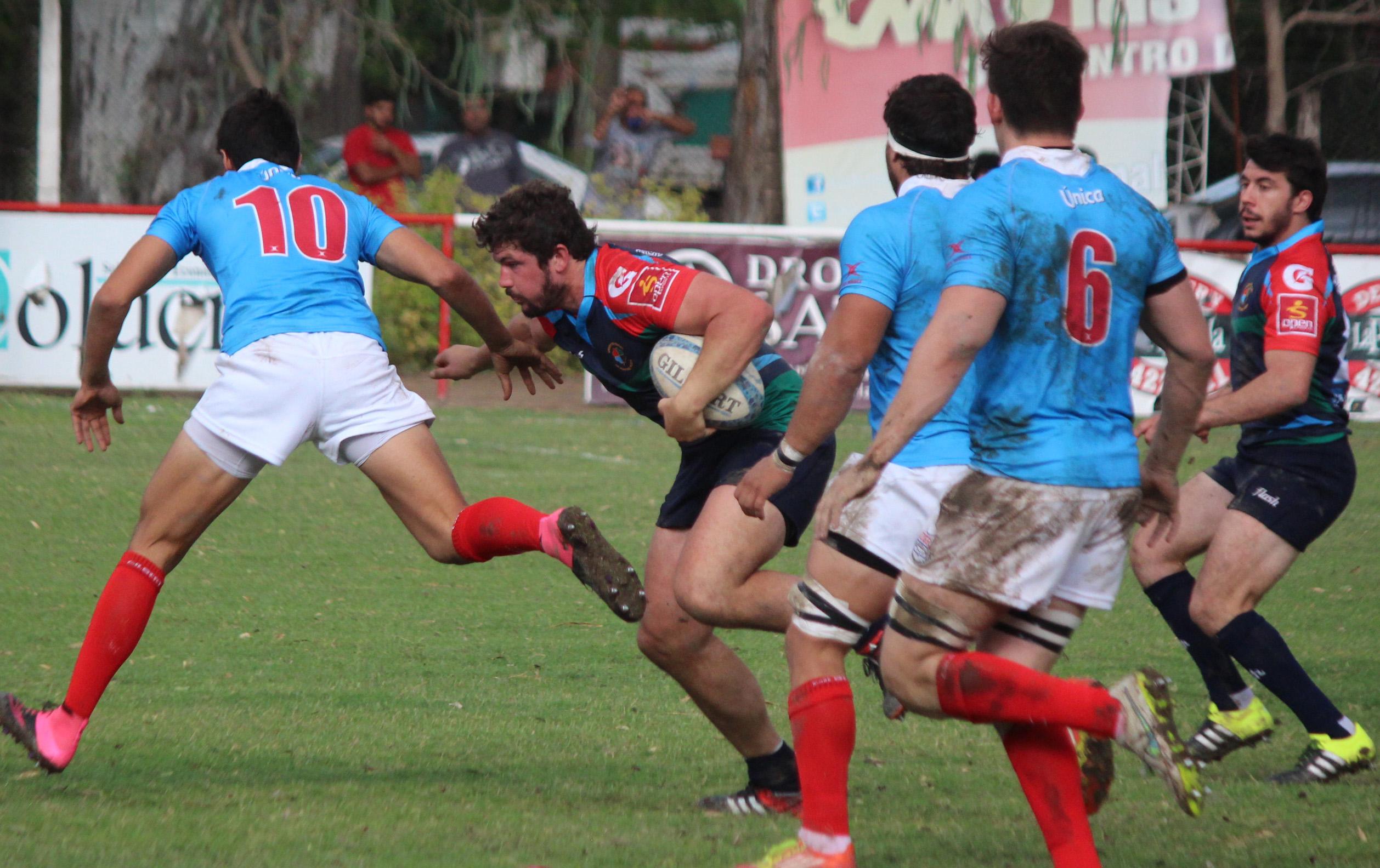 Ignacio Castañón en el debut de la URMDP. (Foto: Pasión y Deporte)