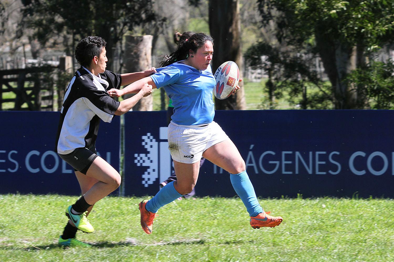 Soledad Cervera, una de las protagonistas del rugby femenino local.