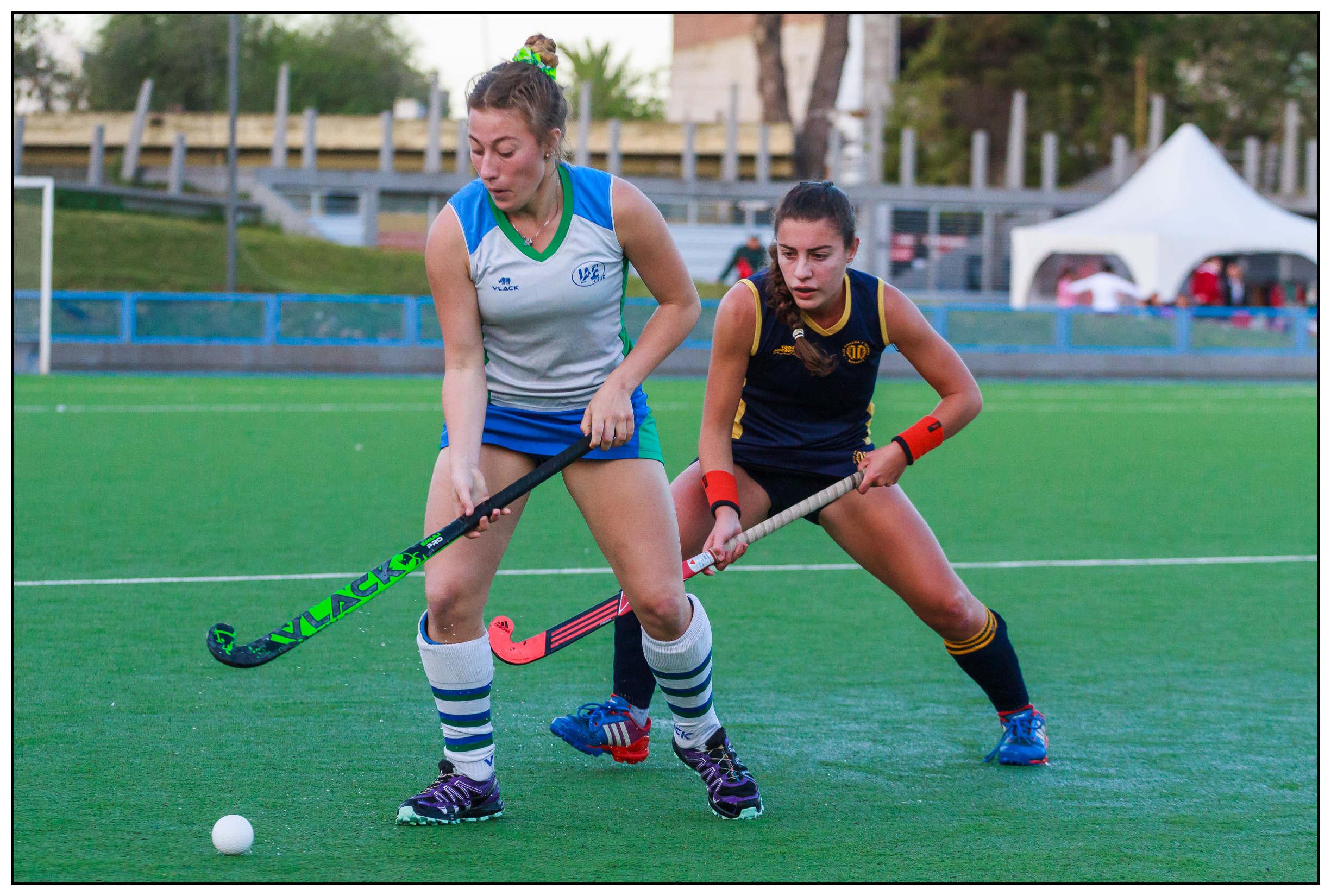 Agustina Fiorelli fue titular en los dos partidos de hoy. (Foto. Diego Landi)