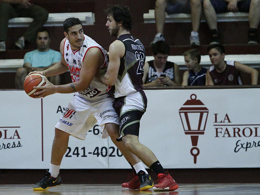 Maximiliano Maciel fue clave en el final del juego. (Foto: Prensa Lanús)