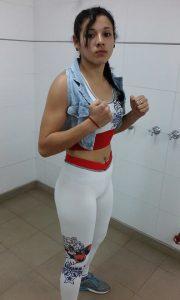 Rocío Bastida se presentó en Buenos Aires para el Desafío de Campeones.