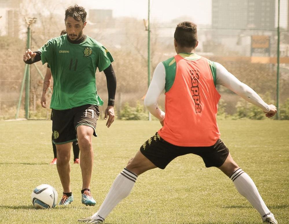 """""""Quique"""" será titular el sábado ante Banfield. (Foto: Sergio Biale)"""