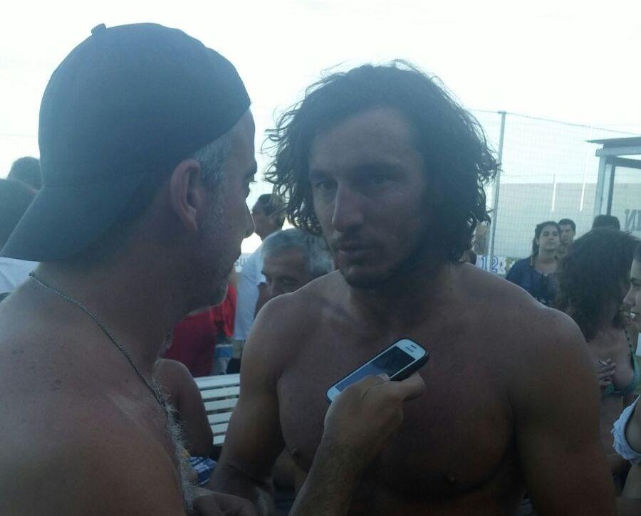 Pico Mónaco en diálogo con Jorge Moreyra.