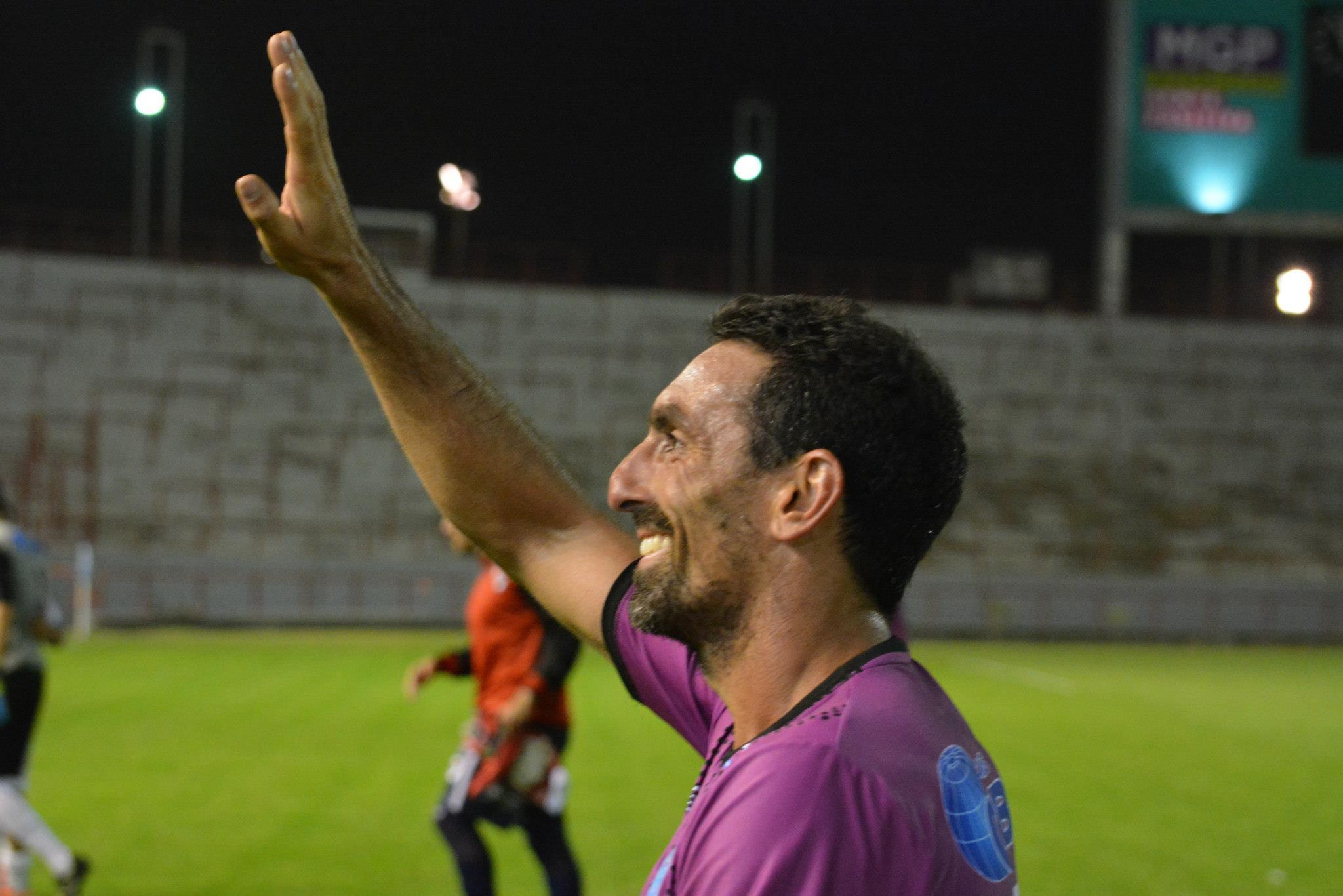 Luciano Mazzina se incorpora a Alvarado. (Foto: Pato Celano)
