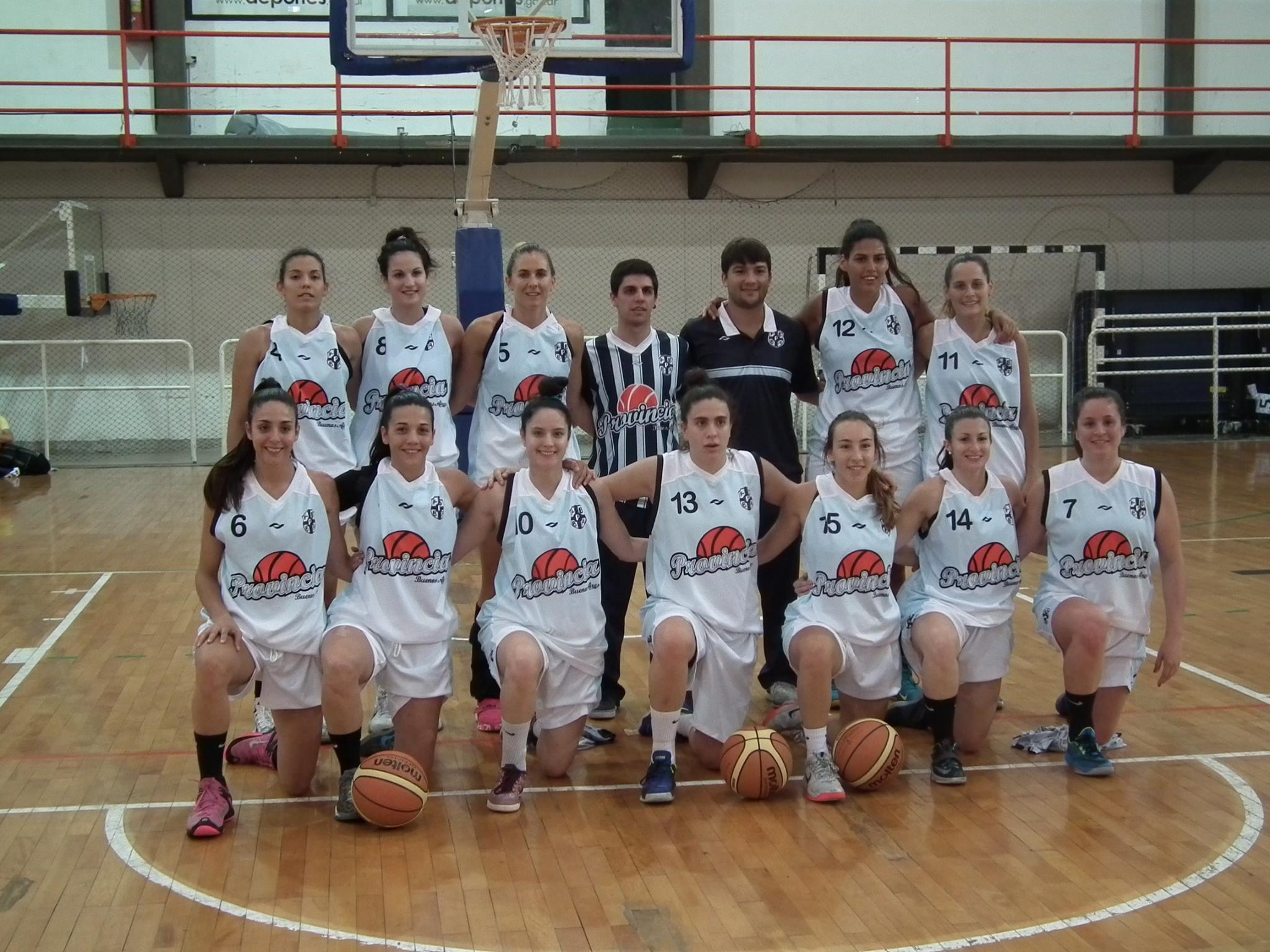 La Selección de la Provincia de Buenos Aires. (Foto: CABB)