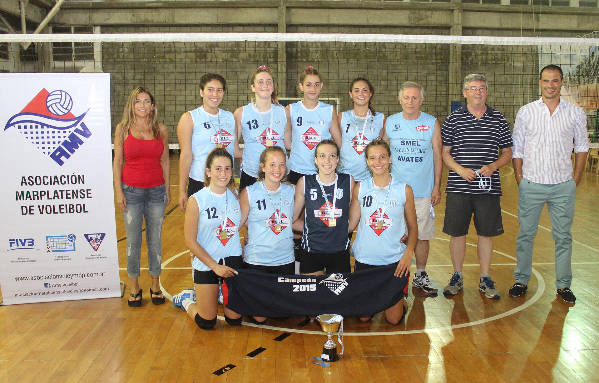 Unión se consagró campeón del Torneo Local en la categoría Sub-16.