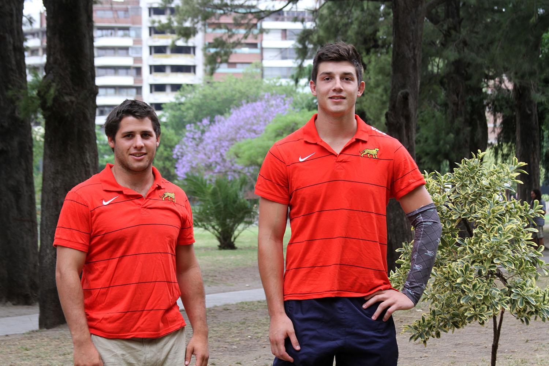 Gregorio del Prete y Lucas Gasparri. (Foto: Prensa URMDP)