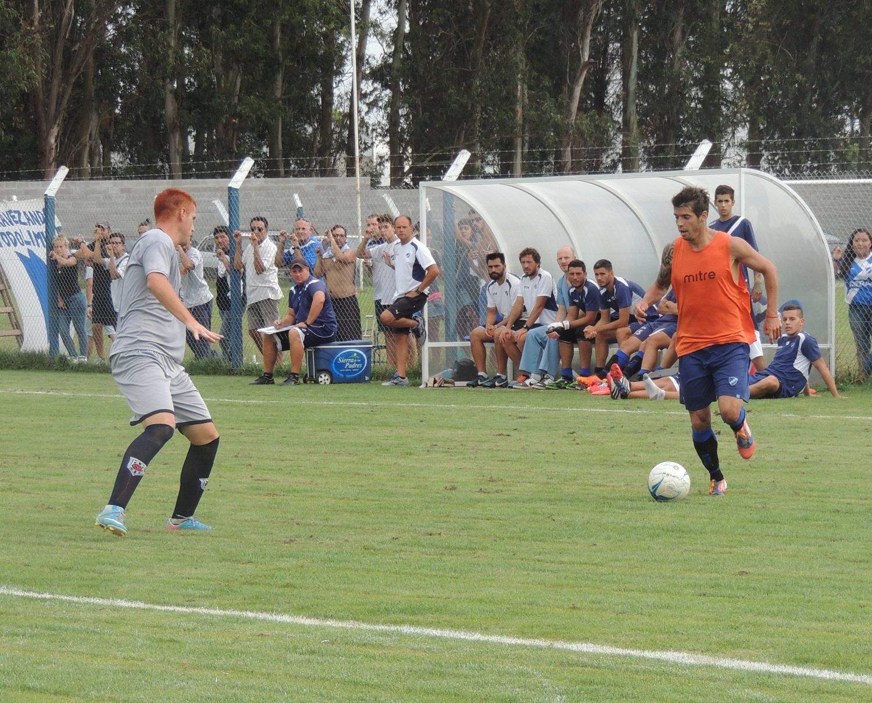 Alvarado empató con Sportivo Barracas en su Villa Deportiva. (foto: Prensa Alvarado)