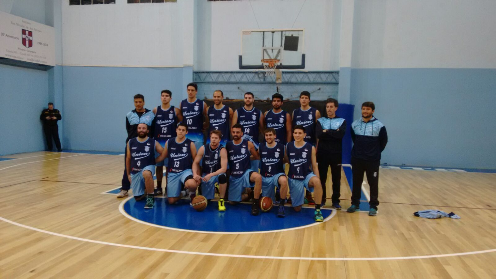 El equipo de Unión para la temporada 2015.