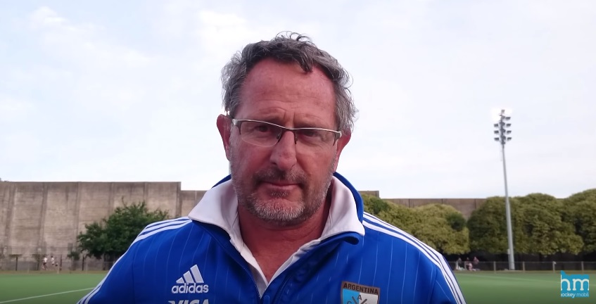 Gabriel Minadeo pasó por Mar del Plata antes de los Test Match con Nueva Zelanda.
