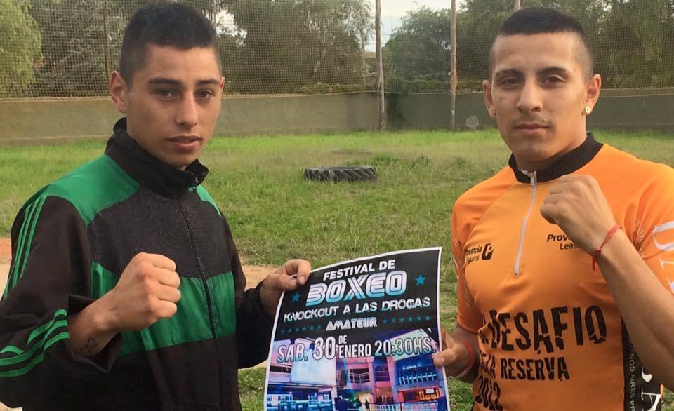 Joel Manriquez y Matías Leiva, los convocados para entrenar en el Cenard.