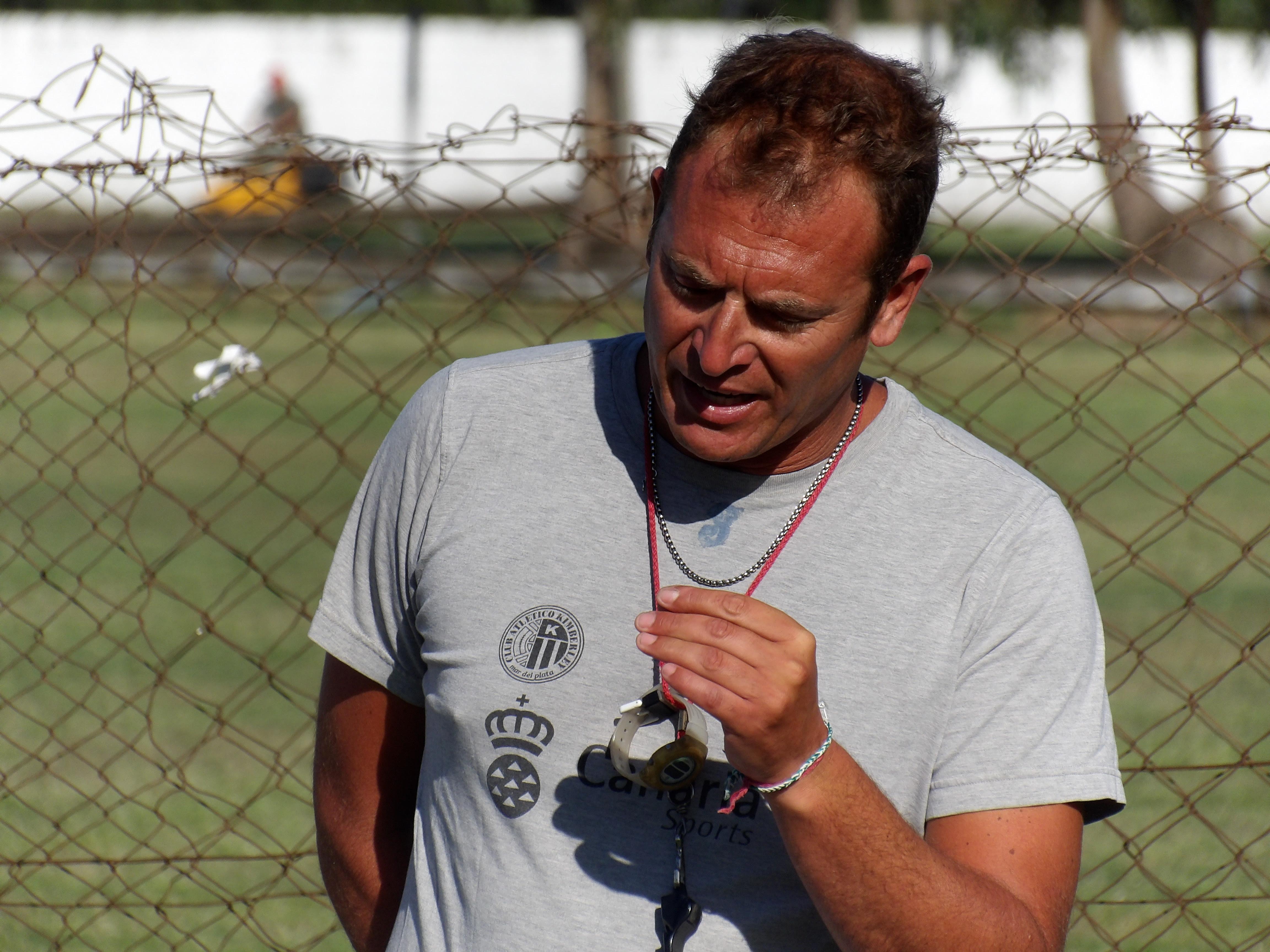 Mariano Mignini sigue poniendo a punto a su equipo.