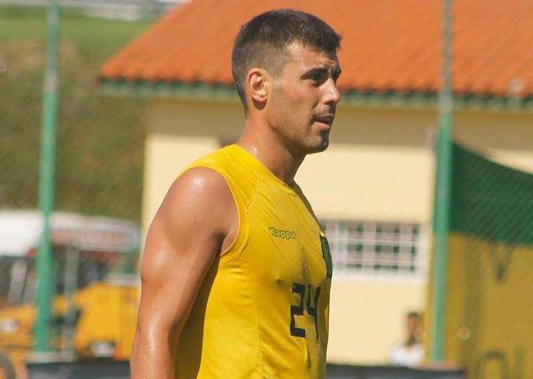 Sebastián Penco anotó el gol de la victoria en Aldosivi. Foto: Club Aldosivi