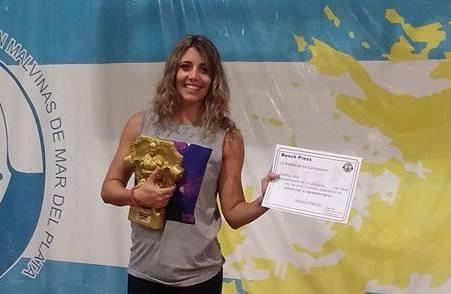 Sofía Cadona, entrenadora de la Selección Argentina de Pesas en la rama Paralímpica.