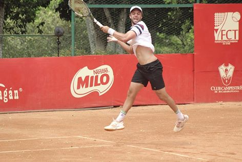 Horacio Zeballos estuvo todo el día en el aire con tantos partidos.