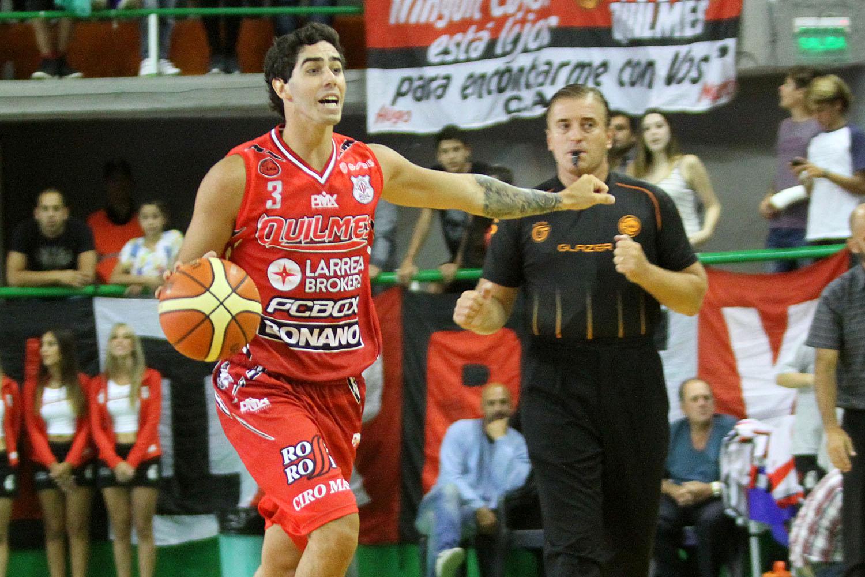 Luca Vildoza ya es jugador Baskonia. (Foto: Carlos De Vita)