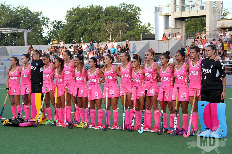 Las Leonas se quedaron con la copa por penales australianos. (Foto: Archivo Carlos De Vita)