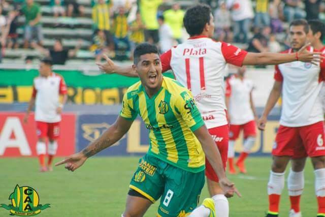 Jonathan Galván se perderá el partido ante Temperley (Foto: Club Aldosivi)
