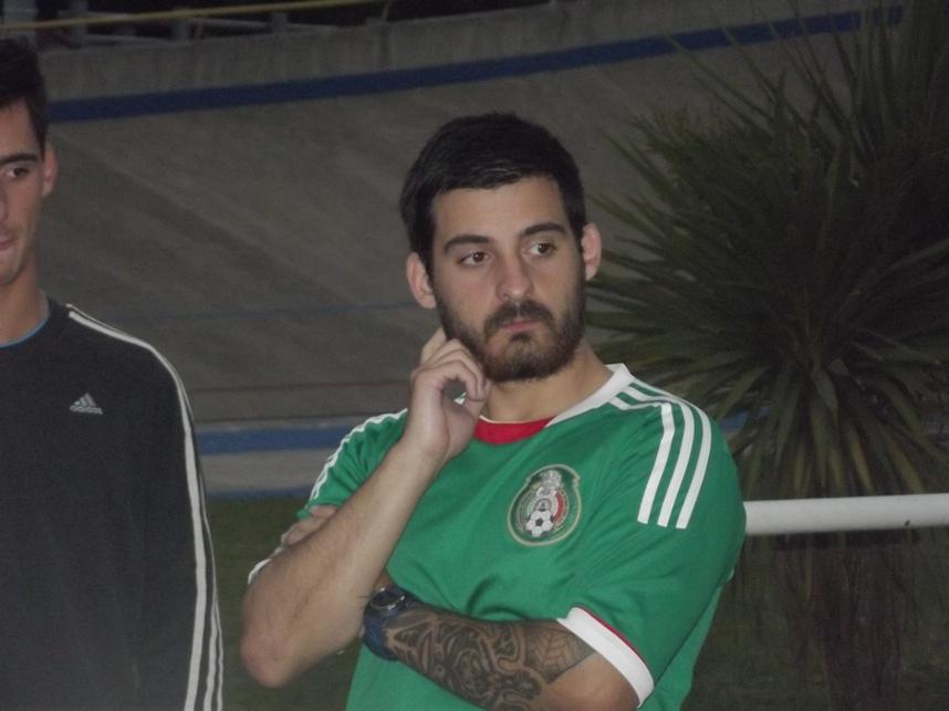 Nahuel Rodríguez en el inicio de la pre-temporada.