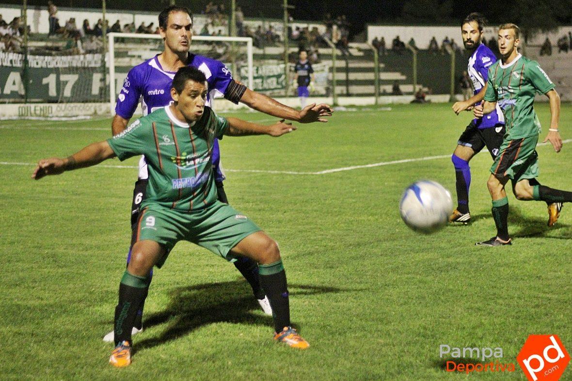 Alvarado se trajo un improtante punto de La Pampa (Foto: Pampa Deportiva)
