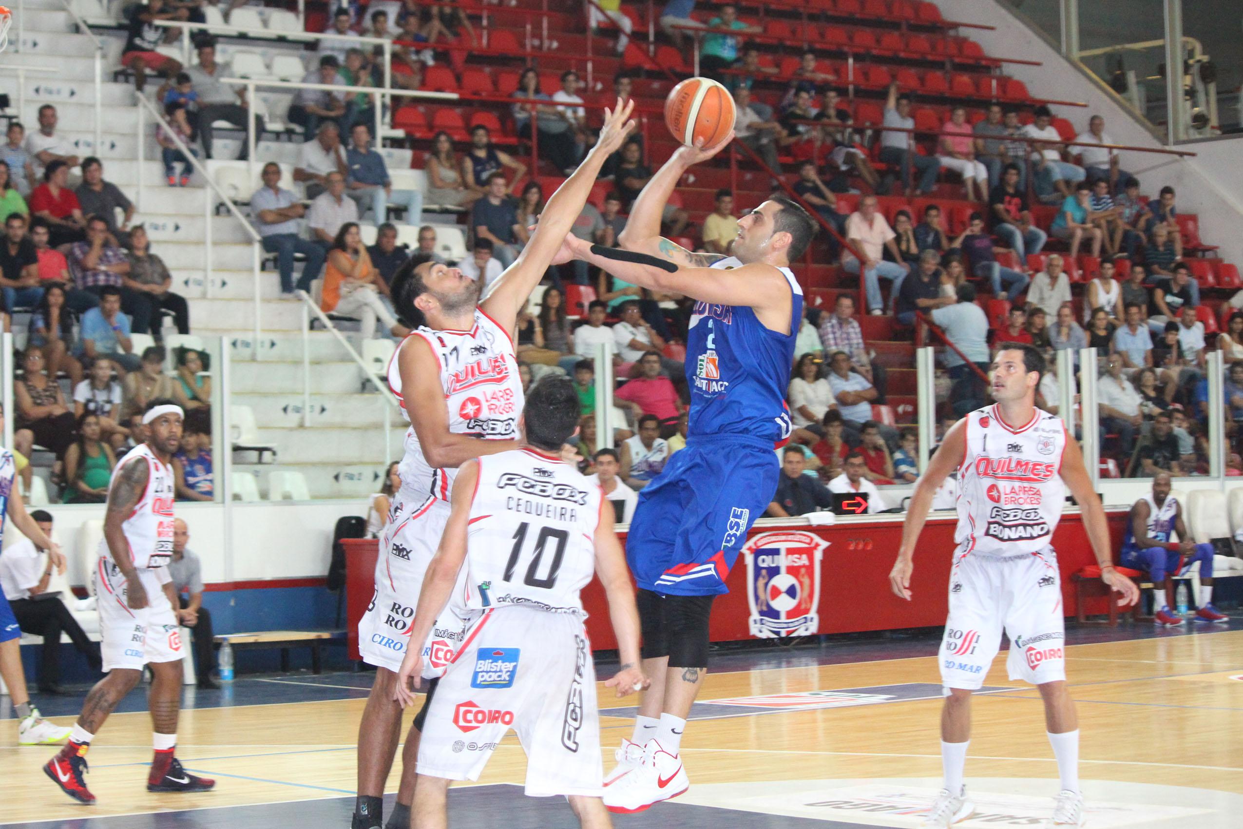 Damián Tintorelli tuvo su noche de ensueño con 26 puntos. (Foto: Mariano Díaz (Pasion & Deporte - LNB.com.ar)