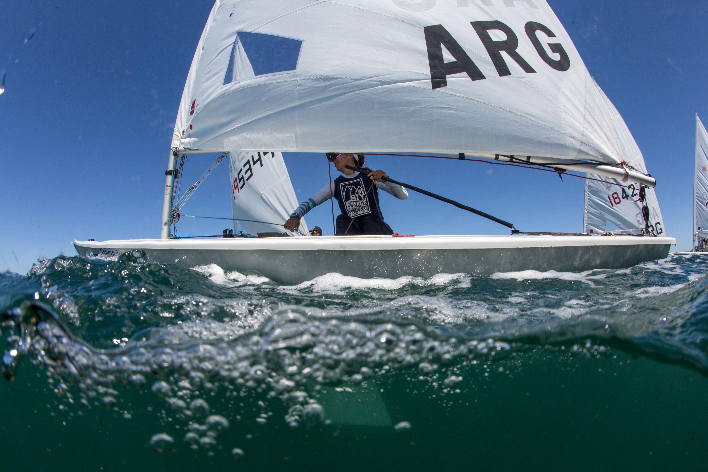 Una de las tantas imágenes que deja la competencia en Mar del Plata. (Foto: Matias Capizzano)